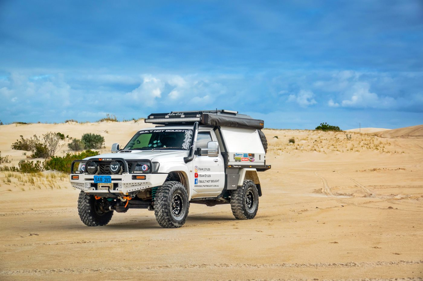 2008 Nissan Patrol GU Series 4, Modified.