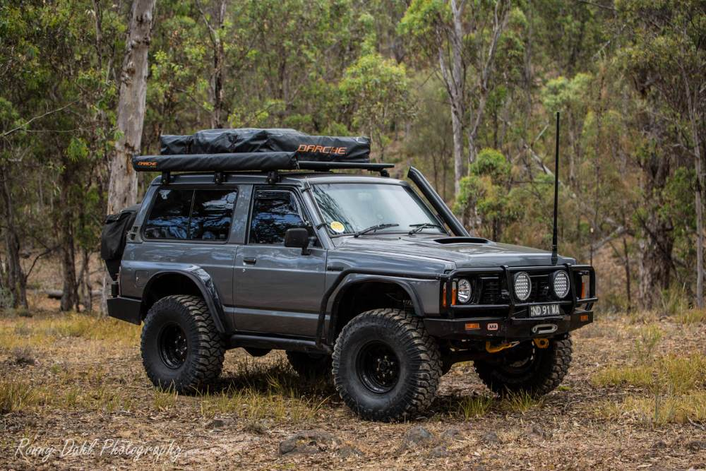 Ford Maverick 4x4 Swb Modified