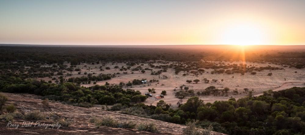 Sunset at Ninghan Station, Western Australia.