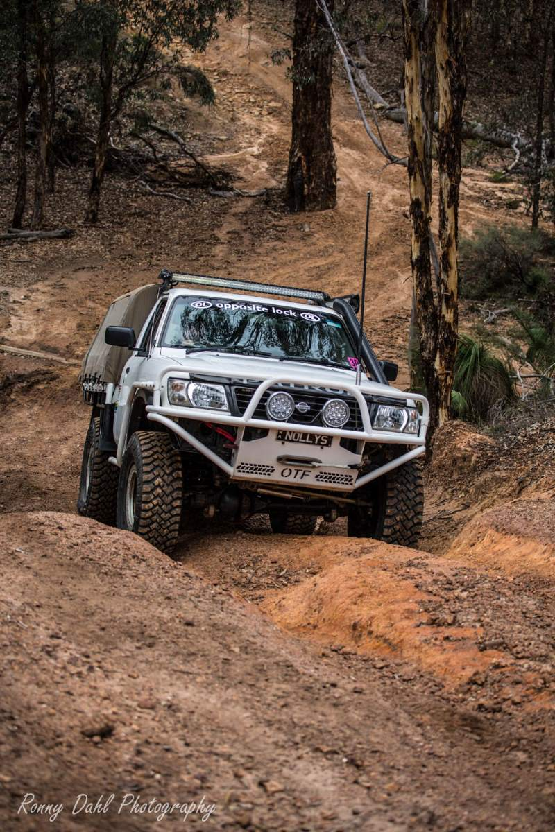 Nissan GU Patrol Ute.