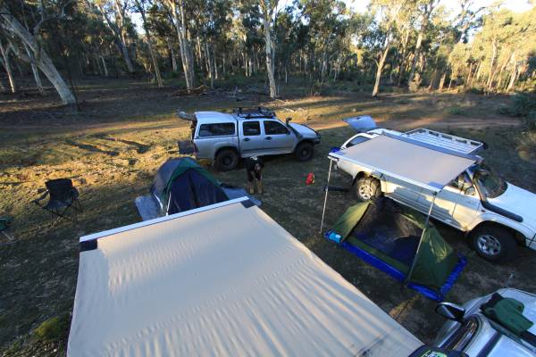 Outback Camping, Western Australia.