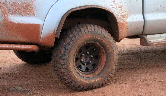 Red dirt track