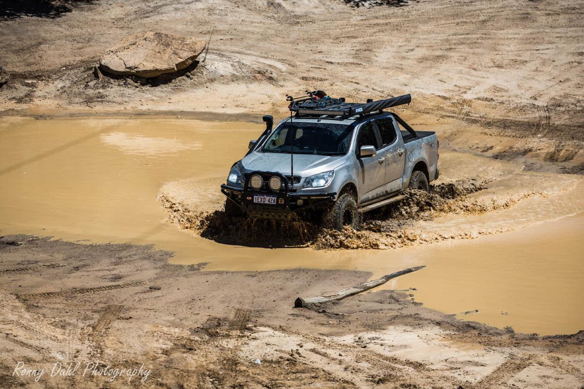 RG Holden Colorado on the Powerline, Perth, Western Australia.
