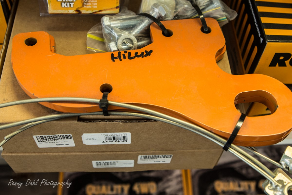 Road safe brand, Hilux recovery point sold in pairs.
