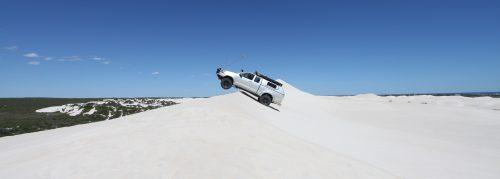 sand dune driving at Lancelin WA.