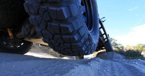 4x4 sand driving.