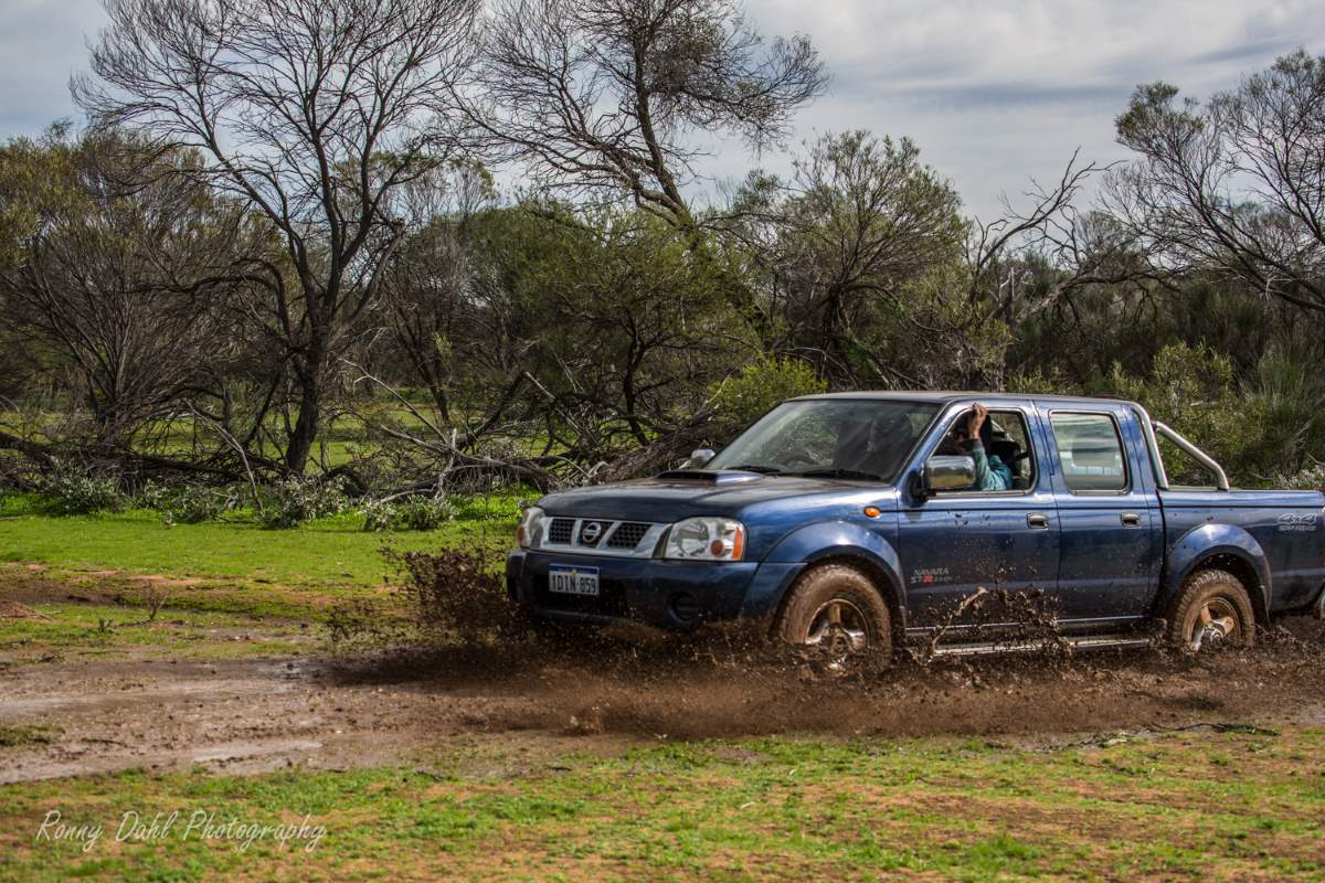 Stock vehicle are limited but can 4WD Off-road without any modifications.