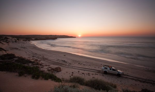 Sunset, False Entrance Bay, Western Australia.