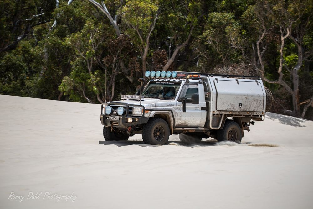 Toyota Land Cruiser, Modified 79 series single cab: