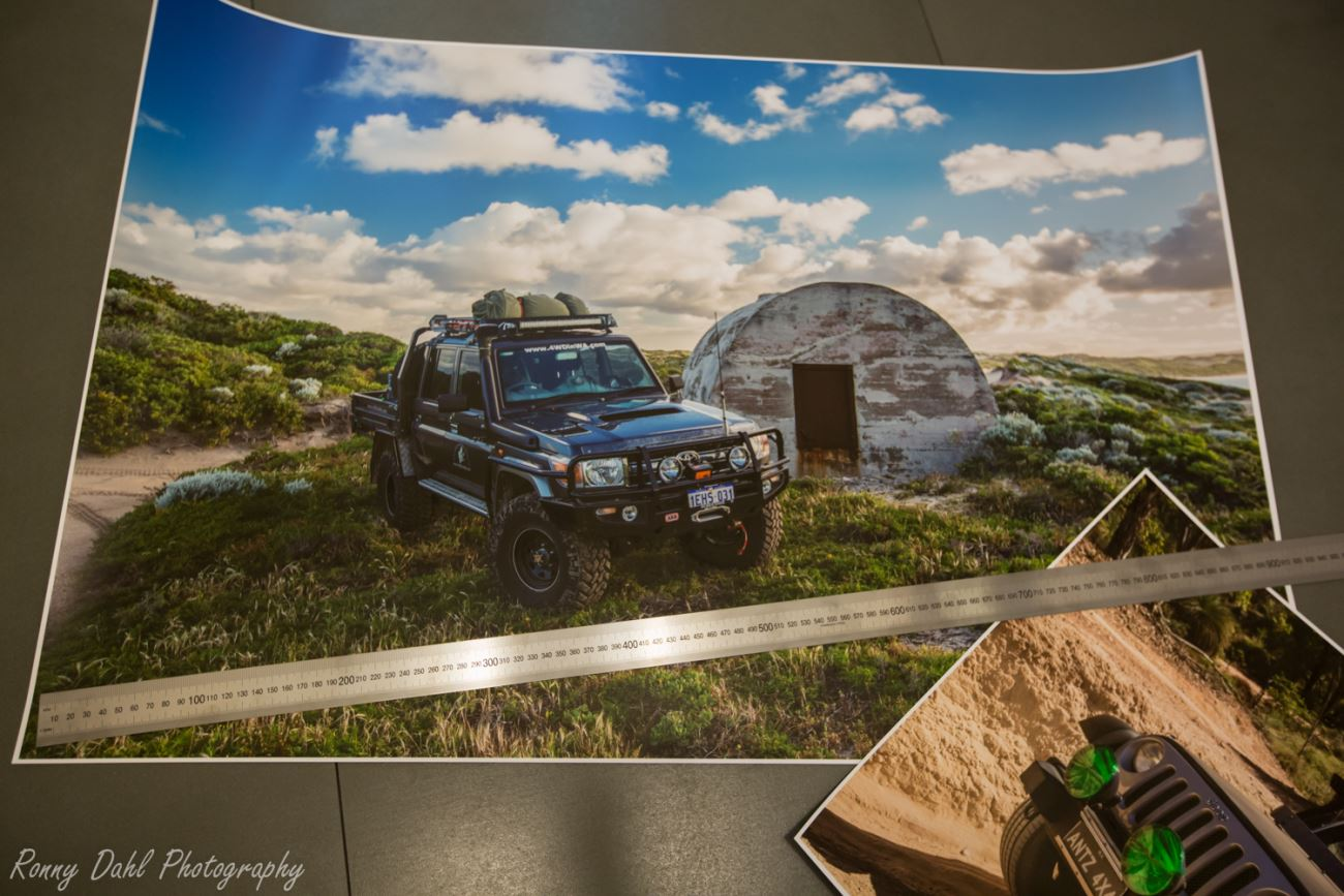 Very big print 900x600mm