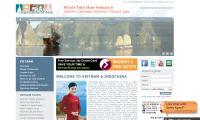 Vietnamluxurytravel's webside.
