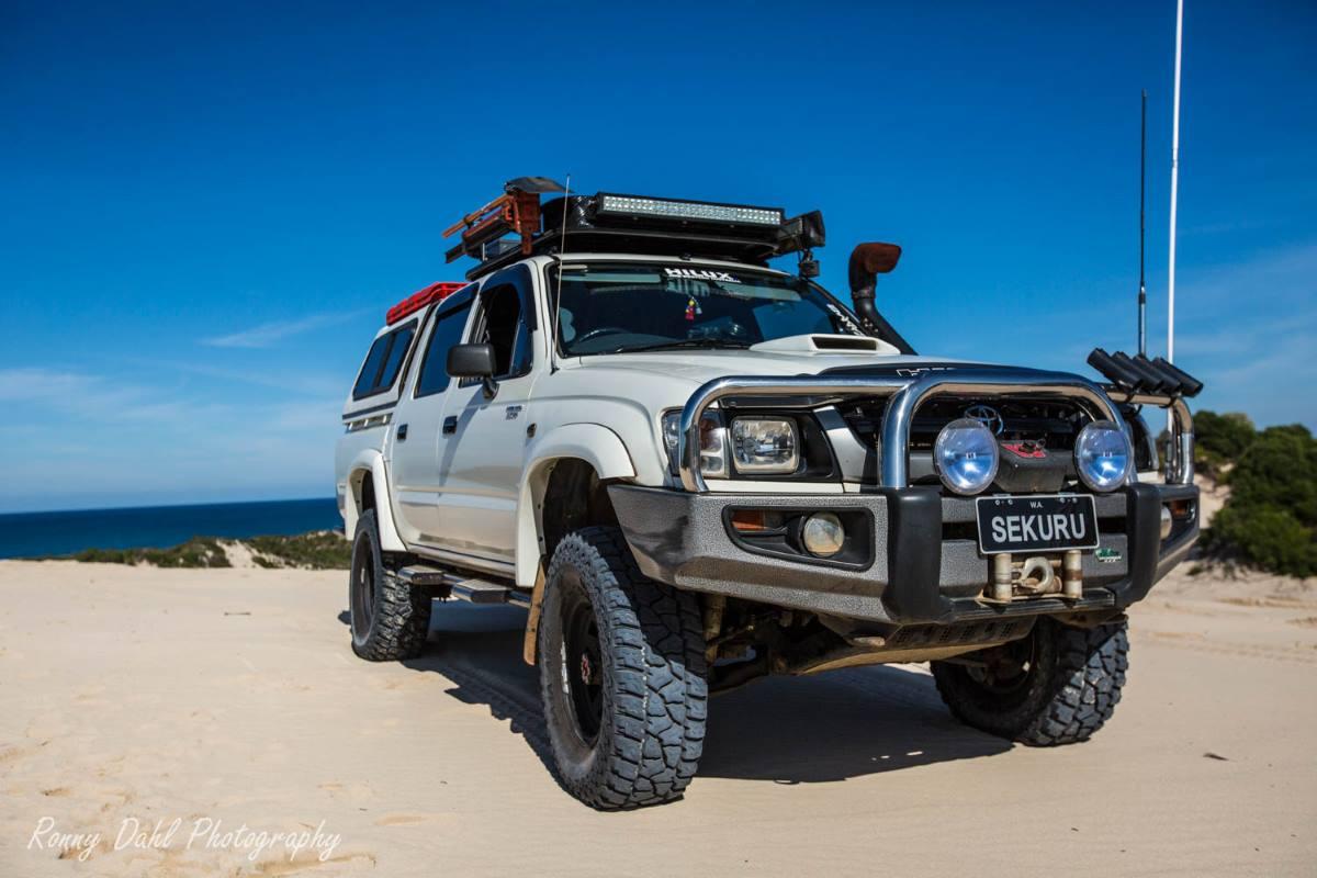 Custom 4x4 Hilux >> Toyota Hilux, Modified.