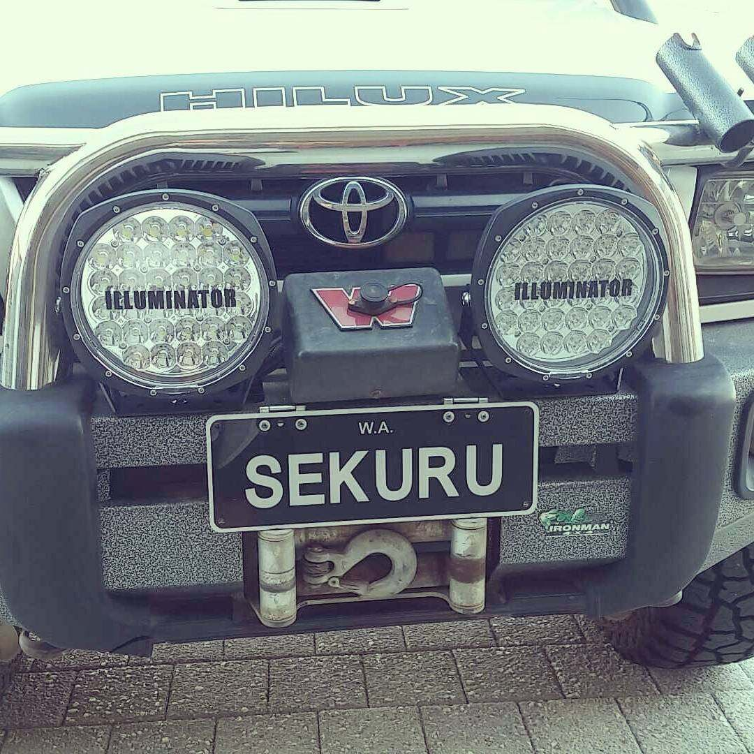 Toyota Hilux Modified.