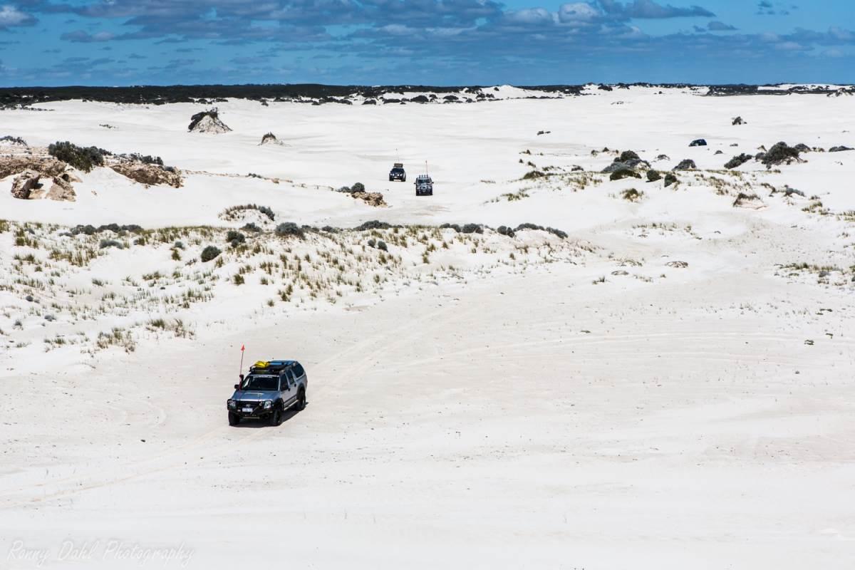 Wedge Island Sand Dunes