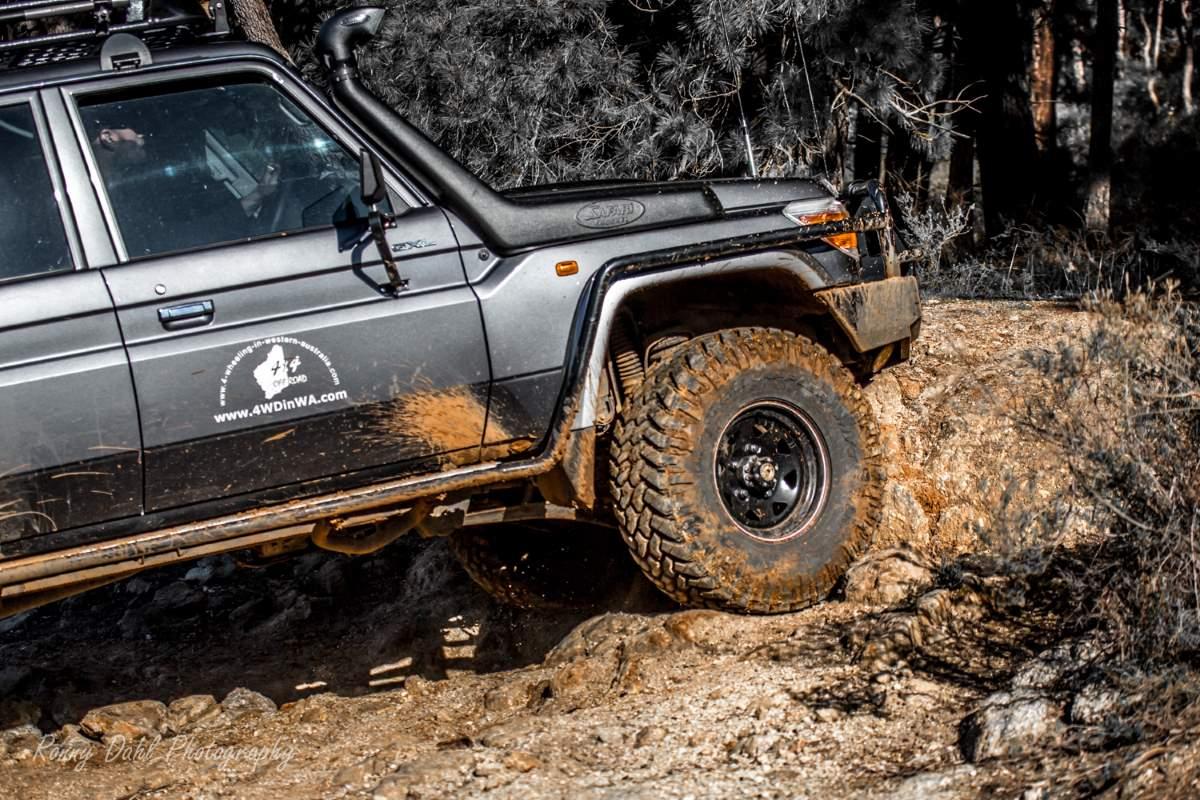 Mud Tires.